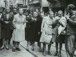 La Derrota: mujeres fascistas capturadas por los partisanos
