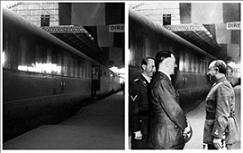 Descubren dos fotos trucadas de Franco y Hitler de 1940