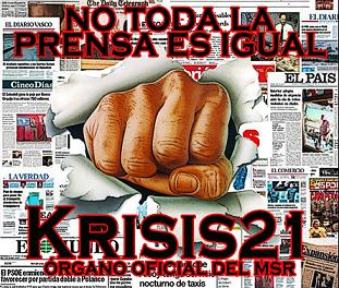 Nuevo numero de KRISIS21