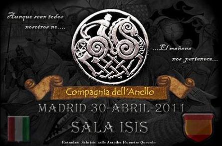 30 de Abril... La Compañia en Madrid