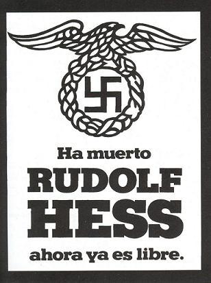 Hess: Ni el odio ni la mentira podrán borrar nuestra memoria