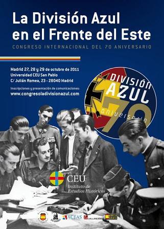La División Azul en el Frente del Este: Congreso internacional del 70 aniversario