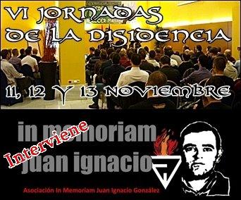 Cita obligada: VI Jornadas de la disidencia (11, 12 y 13 Noviembre)