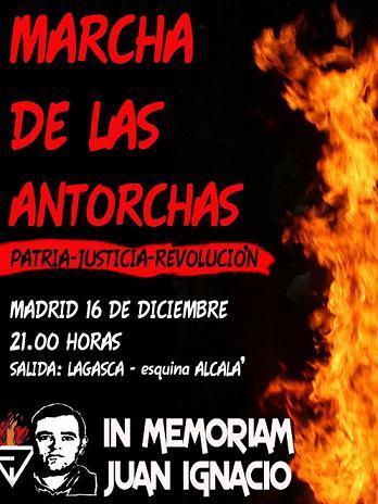 Cita obligada: Madrid 16 de diciembre Juan Ignacio ¡¡Justicia!!