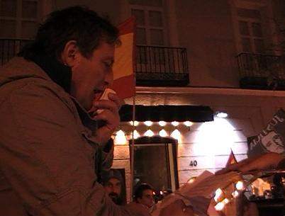 Madrid 16 de diciembre: Discurso de Juan Antonio Lopez Larrea