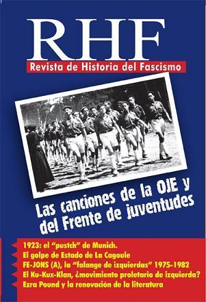 Nuevo número: Revista de Historia del Fascismo IX