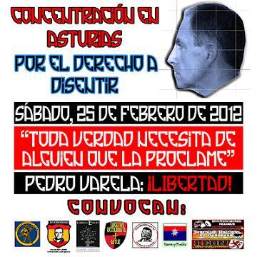Cita obligada: Asturias 25 de Febrero, Pedro ¡¡Libertad, ya!!