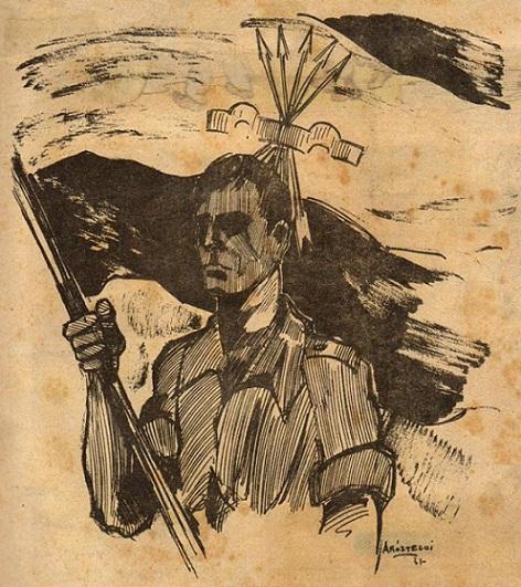 Revista Vanguardia: Rafael Garcia Serrano (1987)