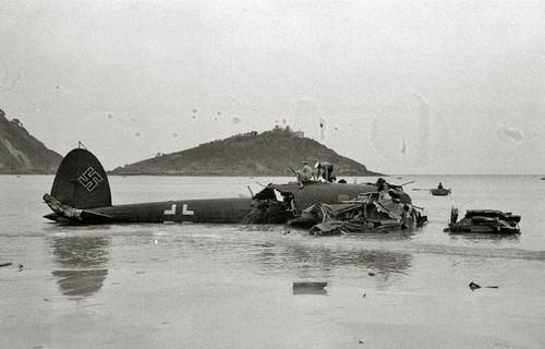 8 de mayo de 1945: Erase un fragmento de un Heinkel 111