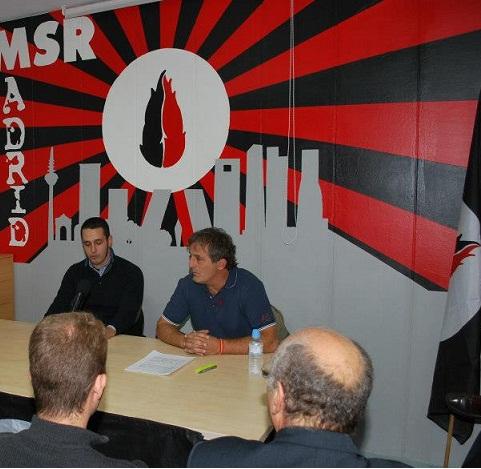 Juan Antonio López Larrea: Conferencia en la sede Madrileña del MSR