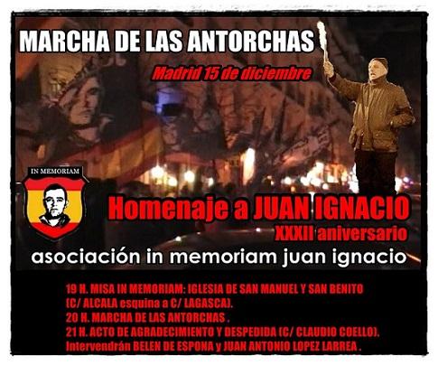 Cita obligada: Madrid 15 de diciembre