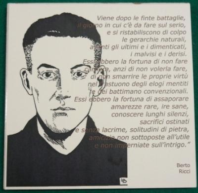 Berto Ricci: Categoria espiritual y categoria social