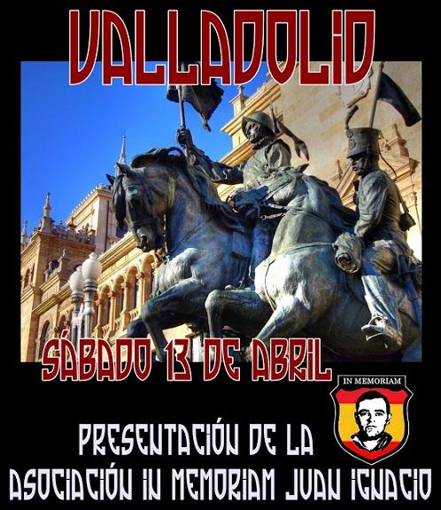 Cita obligada: Valladolid 13 de abril