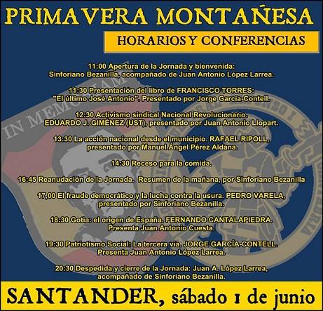 Primavera montañesa: cita obligada, sabado 1 de junio