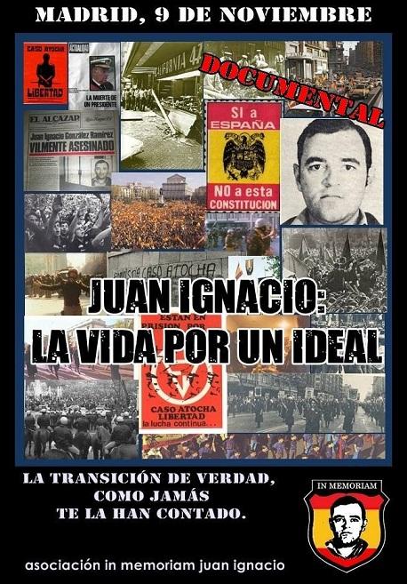 """Cita obligada: presentación documental """"La vida por un ideal"""""""