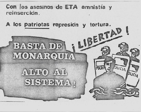 Ayer, hoy y siempre  ¡¡Libertad patriotas detenidos!!