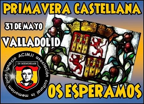 Cita obligada: Valladolid 31 de mayo