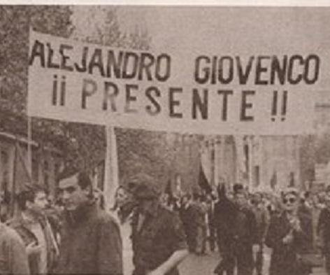 Alejandro Giovenco: Se mató sin poder ser peronista